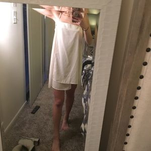 white urban outfitters silk dress
